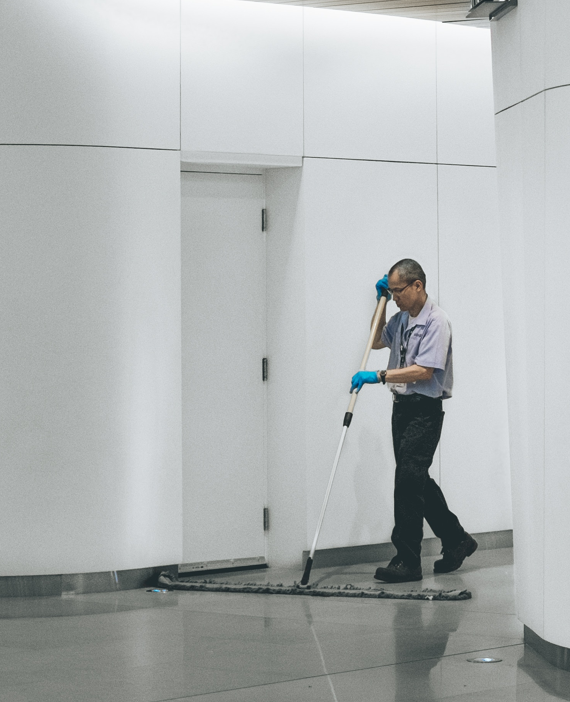 janitorial services for office floor