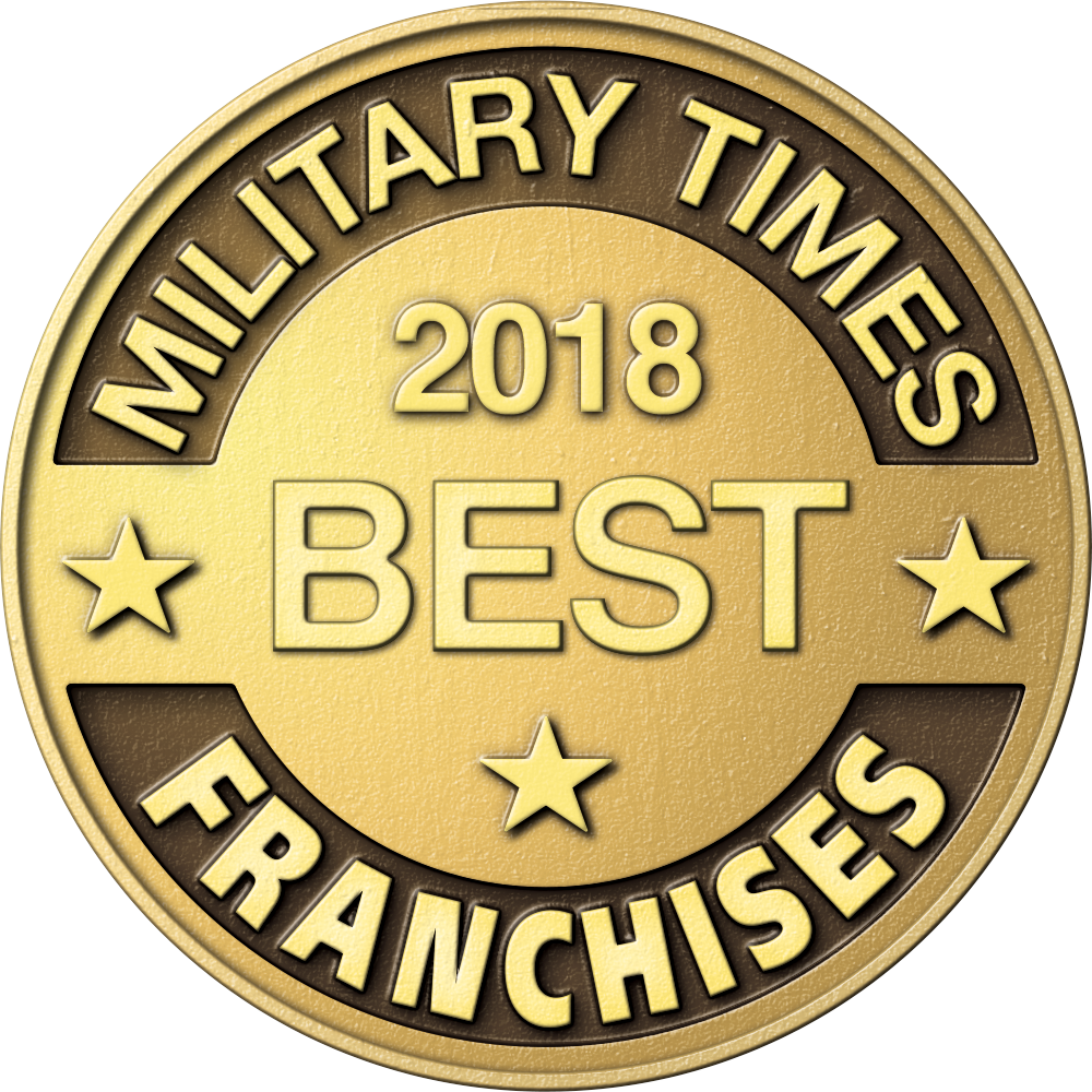 military times 2018 best Franchise for Vets logo