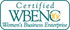 Women's Business Enterprise logo new window to certified membership